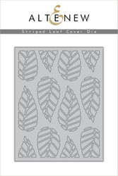 Altenew Die Striped Leaf Cover