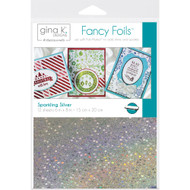 Thermoweb Gina K Deco Foil Sheets Sparkling Silver