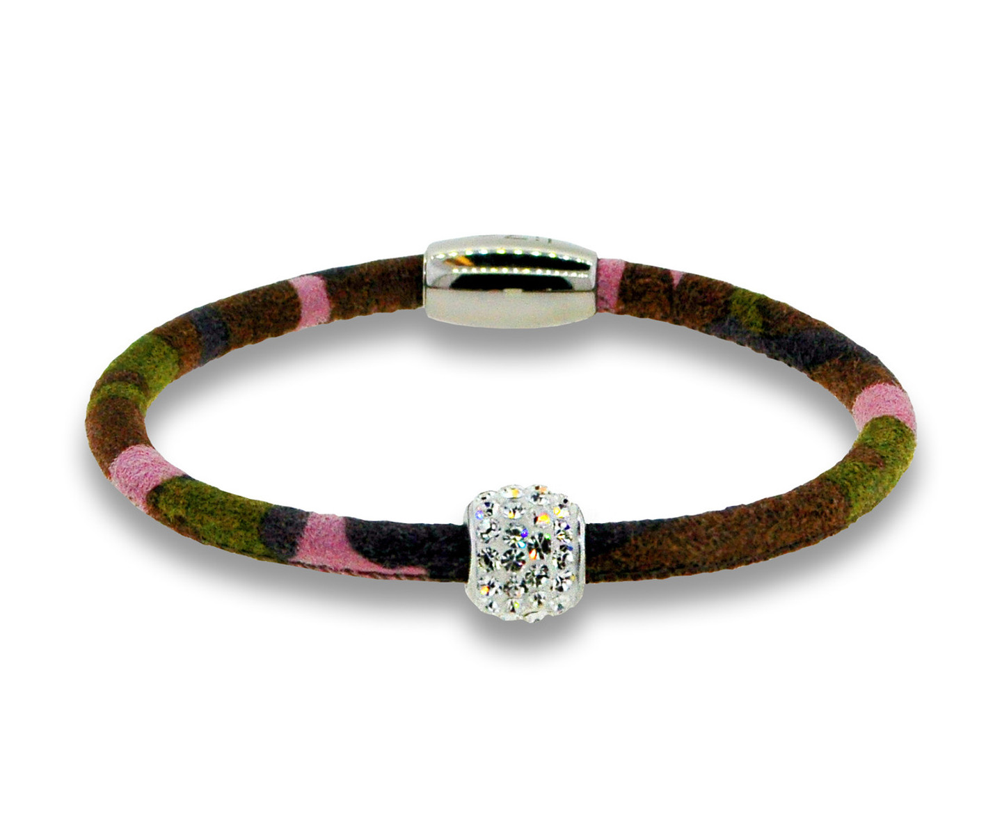 Pink Camouflage Single Bedazzle