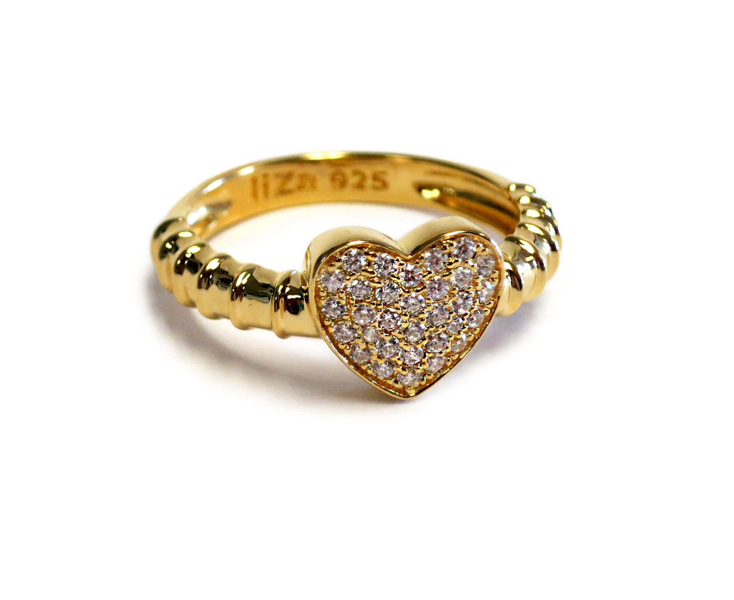 Touch My Heart Ring Gold