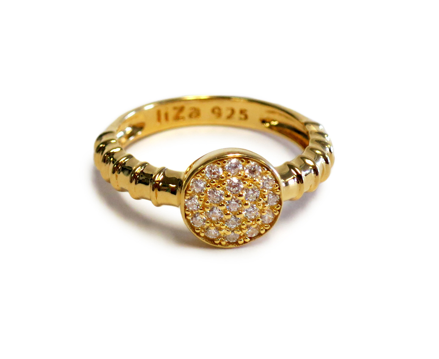 Touch Solar Ring Gold