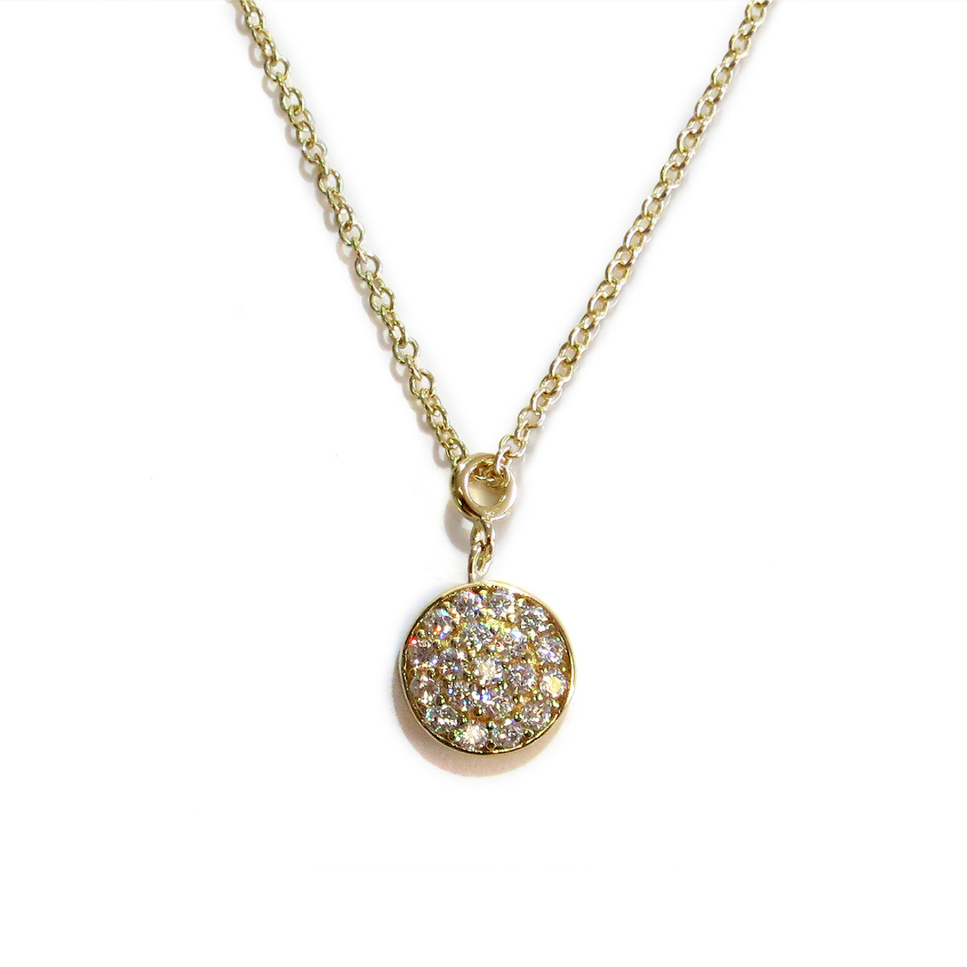 Gold Delicate Solar Necklace