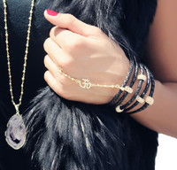 Gold Hand Chain: The OM