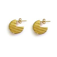 Gold Moonstruck Earrings