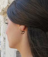 Gold Lunar Mooner Earrings
