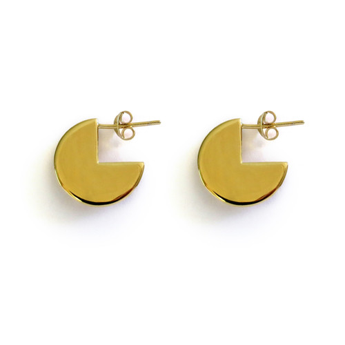 Gold Moonshine Earrings