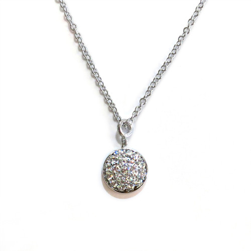 Silver Delicate Solar Necklace