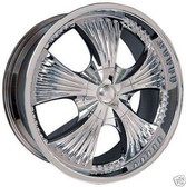 22 INCH 709 RIMS & TIRES MOUNTAINEER SPORT TRAC