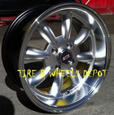 15 INCH STR503S SILVER/MEC RIMS AND TIRES 4X100 ACCORD CIVIC FIT PRELUDE INTEGRA