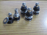 (4) NEW VALVE STEMS ALL CHROME!! 17 18 20 22 24 26 28