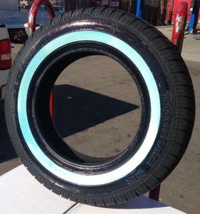 4 uniroyal big white wall tires 155 80