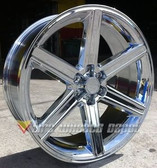 "28"" IROC RIMS WHEELS AND TIRES 6x139.7+20 SILVERADO ESCALADE TAHOE AVALANCHE H3"