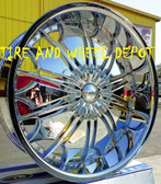 28 INCH TF706 RIMS WHEELS AND TIRES TAHOE ESCALADE SILVERADO SUBURBAN F150 H3