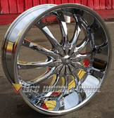 28 INCH DW-8 RIMS WHEELS AND TIRES SUBURBAN QX56 AVALANCHE YUKON TAHOE SIERRA