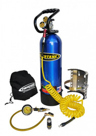 CO2 Tank 15 LB Power Tank Package B 250 PSI Candy Blue Power Tank