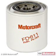 MOTORCRAFT OEM 6.9L IDI DIESEL FUEL FILTER - FD-811