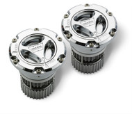 WARN PREMIUM CHROME MANUAL HUB LOCKOUT KIT - 95070