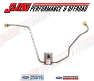 7.3L OEM BANJO FUEL SUPPLY LINE AT VALLEY PUMP - F6TZ-9A564-BA