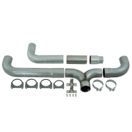 "2004.5-2007 DODGE 5.9L CUMMINS 2007.5-2009 DODGE RAM 6.7L CUMMINS MBRP S8118AL 5"" INSTALLER SERIES CAT-BACK DUAL EXHAUST STACK SYSTEM"