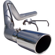 "2007.5-2009 DODGE 6.7L CUMMINS MBRP 4"" INSTALLER SERIES FILTER-BACK EXHAUST SYSTEM S6120AL"