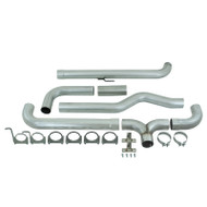 "2001-2007 GM 6.6L DURAMAX MBRP 4"" INSTALLER SERIES DOWNPIPE-BACK DUAL STACK SYSTEM S8000AL"