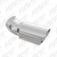 "5"" IN X 6"" OUT MBRP T5154 30-DEGREE BEND POLISHED EXHAUST TIP (5"" INLET, 6"" OUTLET)"