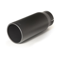 "BANKS POWER 52931 BLACK EXHAUST TIP 4"" IN X 5"" OUT X 12.5"" LONG"