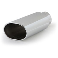 "BANKS POWER 52926 POLISHED EXHAUST TIP 4"" IN X 5"" X 6"" OUT X 14"" LONG"