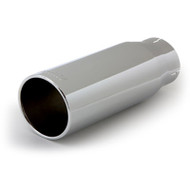 "BANKS POWER 52922 POLISHED EXHAUST TIP 3.5"" IN X 4.38"" OUT X 12"" LONG"