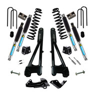 "Superlift 4"" Lift Kit - 05-07 Ford F-250 / F-350 Super Duty 4WD - Diesel Engine - w/ Replacement Radius Arms Bilstein Superide Shocks"