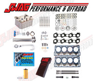 6.0L SOLUTION KIT #5 - OEM HEAD GASKETS ARP STUDS OEM OIL COOLER DELETE & TUNER