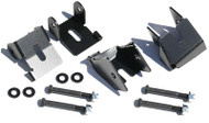 ROCKHARD4X4 Bolt-On Front and Rear Lower Control Arm Skid Plates for Jeep Wrangler JK 2/4DR 2007 - 2018 D30 or D44