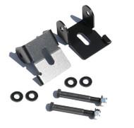ROCKHARD4X4 Bolt-On Front Lower Control Arm Skid Plates for Jeep Wrangler TJ/LJ, XJ, JK 1984 - 2018 D30/D44