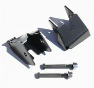 ROCKHARD4X4 Bolt-On Rear Lower Control Arm Skid Plates for Jeep Wrangler JK 2007 - 2018 D30/D44