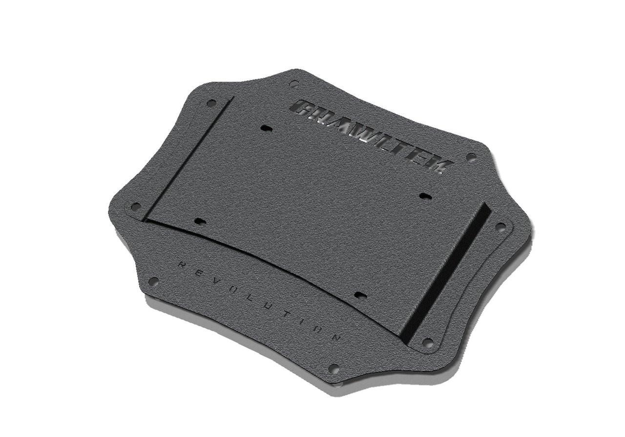Crawltek Jeep Wrangler Jk Tailgate Plate License Relocation Duramax Fuel Filter Image 1