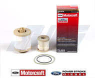6.0L OEM MOTORCRAFT FUEL FILTER KIT