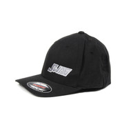 SWAG BLACK FITTED HAT