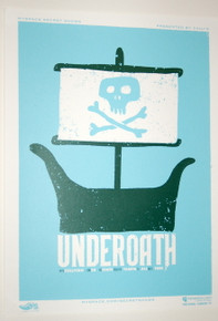 UNDEROATH - THE STATE THEATER - 2007 - MYSPACE SECRET SHOW CONCERT POSTER