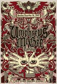 UMPHREYS MCGEE - GREGG GORDON - GIGART -  POSTER - 2007