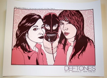 THE DEFTONES- TERMINAL 5 - NEW YORK CITY  - 2013 - JERMAINE ROGERS -TOUR POSTER