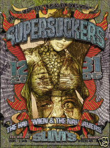 SUPERSUCKERS - HANGMEN - NAYSAYERS - POSTER - FIREHOUSE