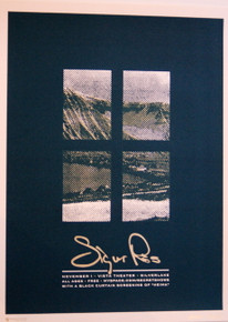 SIGUR ROS - 2007 - HOLLYWOOD - MYSPACE SECRET SHOW  CONCERT POSTER