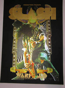 SLASH - WARFIELD - 2010 - DONOVAN - POSTER - GUNS ROSES