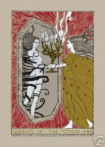 QUEENS OF THE STONE AGE - ITALY 2008- POSTER - MALLEUS