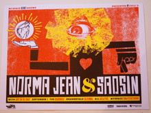 NORMA JEAN & SAOSIN - THE BOARDWALK - MYSPACE SECRET SHOW CONCERT POSTER