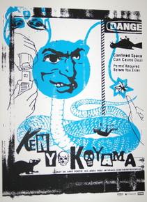 KEN YOKOYAMA - 2007 - TOKYO - FOUR - MYSPACE SECRET SHOW CONCERT POSTER