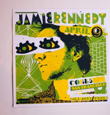 JAMIE KENNEDY - COBBS COMEDY CLUB  - MYSPACE SECRET SHOW CONCERT POSTER