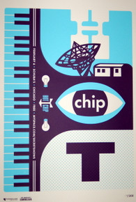 HOT CHIP - SCHUBA'S - ONE LIFE STAND - 2010 - MYSPACE SECRET SHOW POSTER