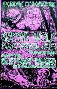 GUITAR WOLF - MISSLE ME - LOWERROCK - POSTER - KUHN -