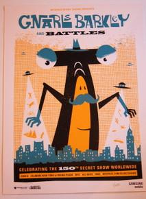 GNARLS BARKLEY - IRVING PLAZA - CEE LO GREEN - 2008 -MYSPACE SECRET SHOW POSTER